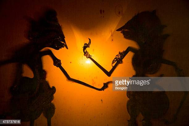 Wayang Javanese Shadow Puppet Theater Traditional Indonesia Culture