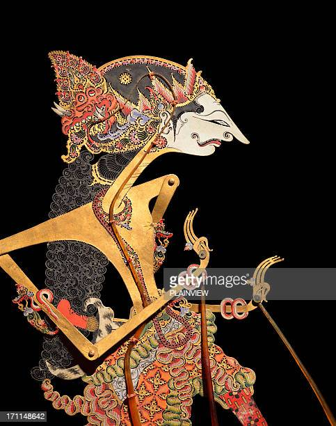 wayang puppet - puppet stock pictures, royalty-free photos & images
