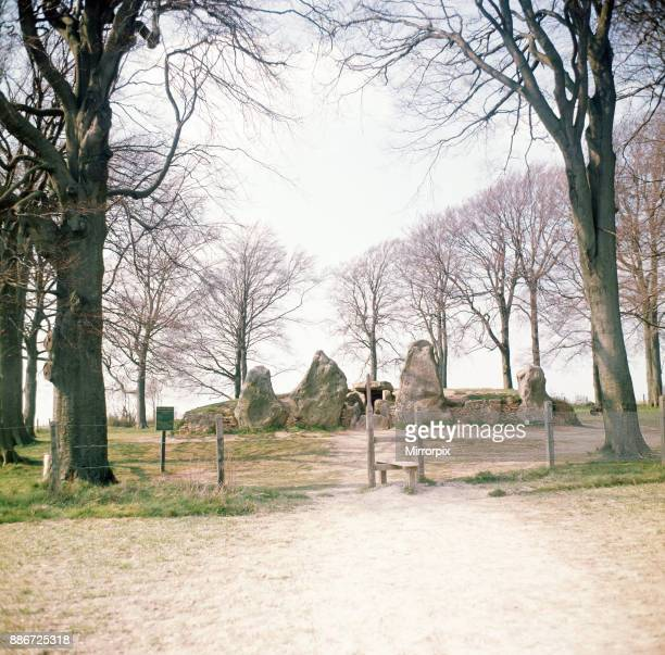 Waylands Smithy a Neolithic long barrow and chamber tomb situated in the Vale of the White Horse Oxfordshire 1973