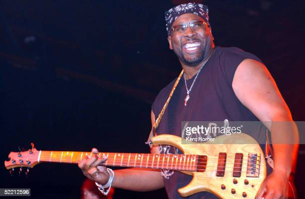Wayman Tisdale performs at Club NBA during AllStar NBA Jam Session at the Colorado Convention Center during NBA AllStar weekend on February 17 2005...