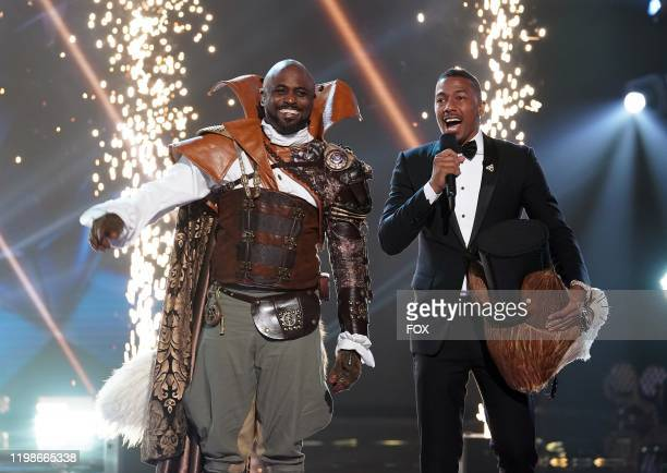 Wayne Brady and host Nick Cannon in the Road to the Finals / Season Finale And The Winner Takes It All and Takes It Off twohour season finale episode...