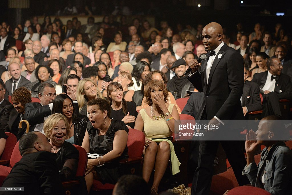 Wayne Brady performs at the 8th annual Apollo Theater Spring Gala Concert at The Apollo Theater on June 10, 2013 in New York City.