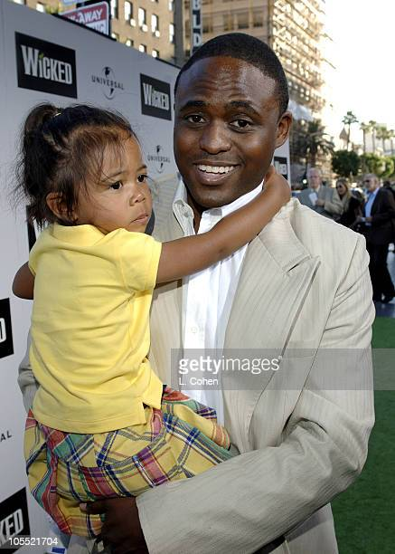 Wayne Brady with daughter Mandie Brady during Wicked Los Angeles Opening Night Red Carpet at The Pantages Theatres in Los Angeles California United...