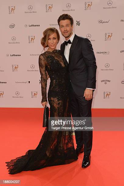 Wayne Carpendale and Annemarie Carpendale attend the Bambi Awards 2013 at Stage Theater on November 14 2013 in Berlin Germany