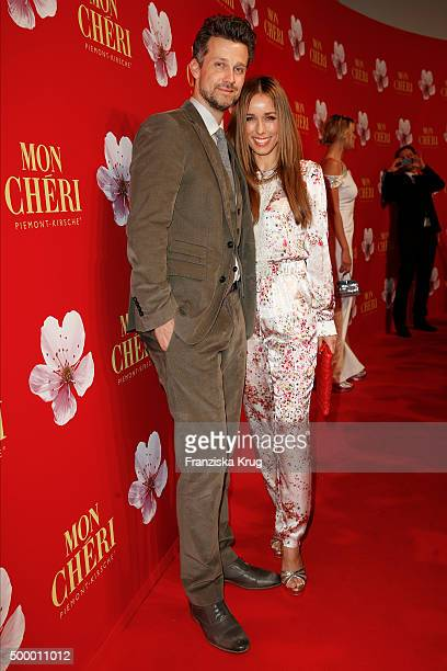 Wayne Carpendale and Annemarie Carpendale attend the Mon Cheri Barbara Tag 2015 at Postpalast on December 4 2015 in Munich Germany