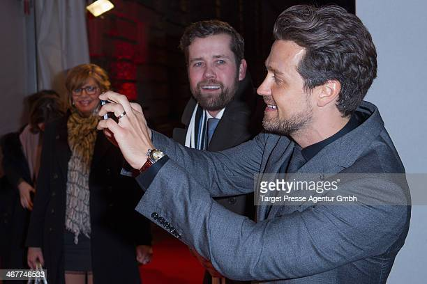 Wayne Carpendale attends the Bunte BMW Festival Night 2014 at Humboldt Carree on February 7 2014 in Berlin Germany