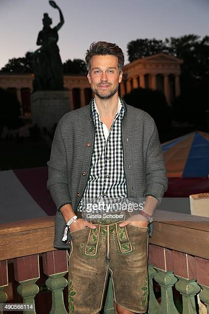 Wayne Carpendale during the Oktoberfest 2015 at Kaeferschaenke / Theresienwiese on September 29 2015 in Munich Germany