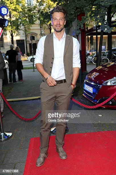 Wayne Carpendale during the Peugeot BVC Castingnight Summer 2015 at Kaeferschaenke on June 28 2015 in Munich Germany