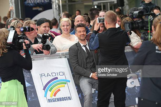 Wayne Carpendale during the Radio Regenbogen Award 2016 at Europapark Rust on April 22 2016 in Rust Germany