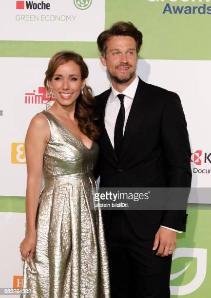 Wayne Carpendale und Annemarie Carpendale auf den GreenTec Awards 2015 im Velodrom Berlin am