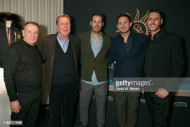 Wayne Collins Harry Redknapp Jamie Redknapp Frank Lampard and Sam Harman attend the launch of Jamie Redknapp's fashion venture Sandbanks at Yopo The...