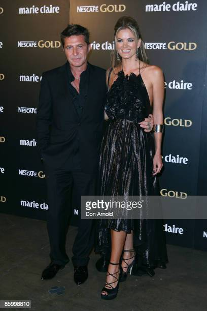 Wayne Cooper and Heidi Houghton arrive for the 2009 Prix de Marie Claire Awards at the Royal Hall of Industries on April 16 2009 in Sydney Australia