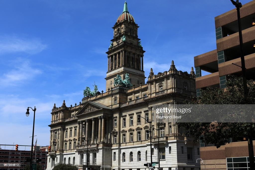 Wayne County Building in Detroit, Michigan on May 24, 2018  News