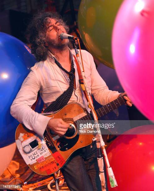 Wayne Coyne and The Flaming Lips perform during the MTV, VH1, CMT & LOGO O Music awards at the House of Blues on June 28, 2012 in New Orleans,...