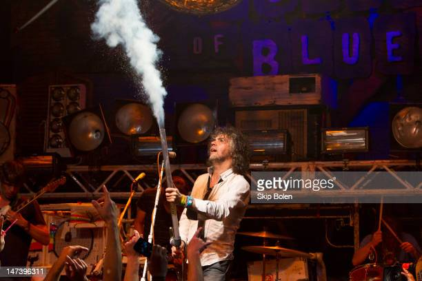 Wayne Coyne and The Flaming Lips perform on stage during the conclusion of the MTV VH1 CMT LOGO O Music awards at the House of Blues on June 28 2012...