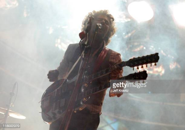 Wayne Coyne of The Flaming Lips during Bonnaroo 2007 Day 2 The Flaming Lips at Which Stage in Manchester Tennessee United States