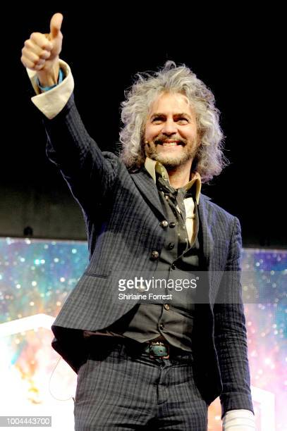 Wayne Coyne of The Flaming Lips in conversation with Professor Tim Ou0092 Brien Associate Director Jodrell Bank Centre for Astrophysics at Blue Dot...
