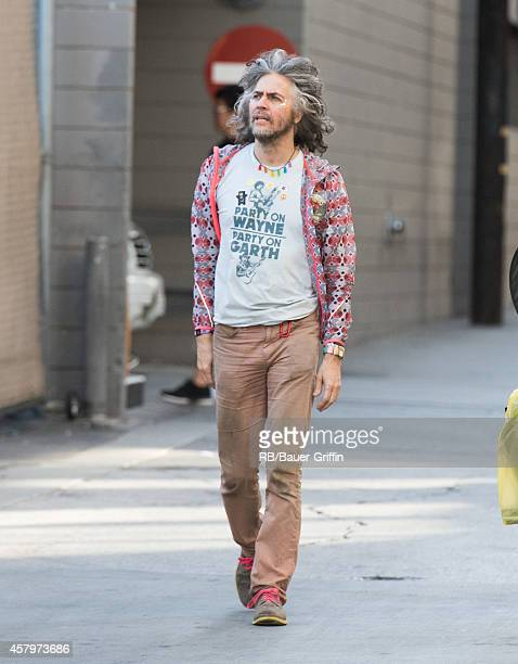 Wayne Coyne of The Flaming Lips is seen at 'Jimmy Kimmel Live' on October 27 2014 in Los Angeles California