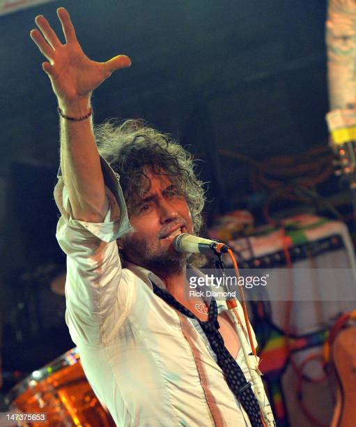 Wayne Coyne of The Flaming Lips on stage during the conclusion of the MTV VH1 CMT LOGO O Music Awards at the House of Blues on June 28 2012 in New...