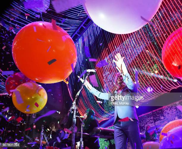 Wayne Coyne of The Flaming Lips performs at The Georgia Theatre on March 5 2018 in Athens Georgia