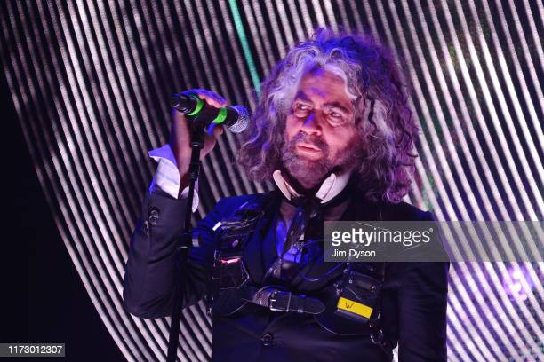 Wayne Coyne of the Flaming Lips performs live on stage at Brixton Academy on September 07 2019 in London England