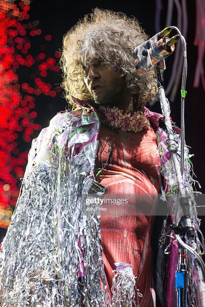 Wayne Coyne of The Flaming Lips performs live onstage during the 2014 Bunbury Music Festival on July 13, 2014 in Cincinnati, Ohio.