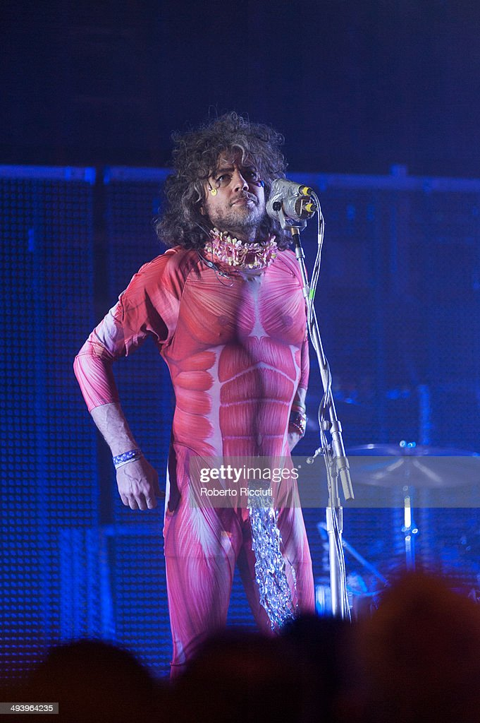 The Flaming Lips Perform At The Liquid Room In Edinburgh : News Photo