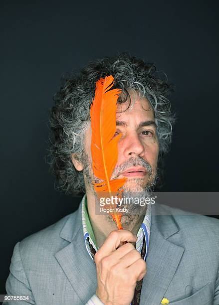 Wayne Coyne of The Flaming Lips poses for a portrait at the ATP New York 2009 festival at the Kutsher's Country Club on September 13, 2009 in...