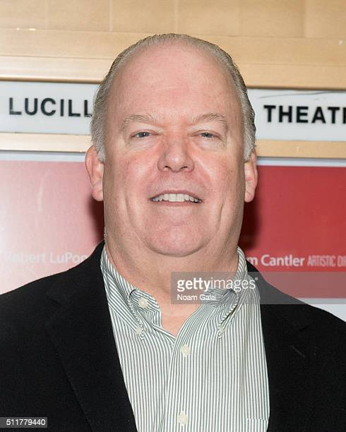 Wayne Duvall attends Smokefall opening night at Lucille Lortel Theatre on February 22 2016 in New York City