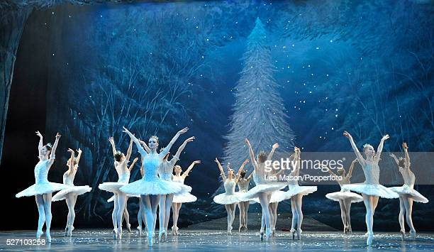 Wayne Eagling's The Nutcracker performed by the ENB at The London Coliseum UK