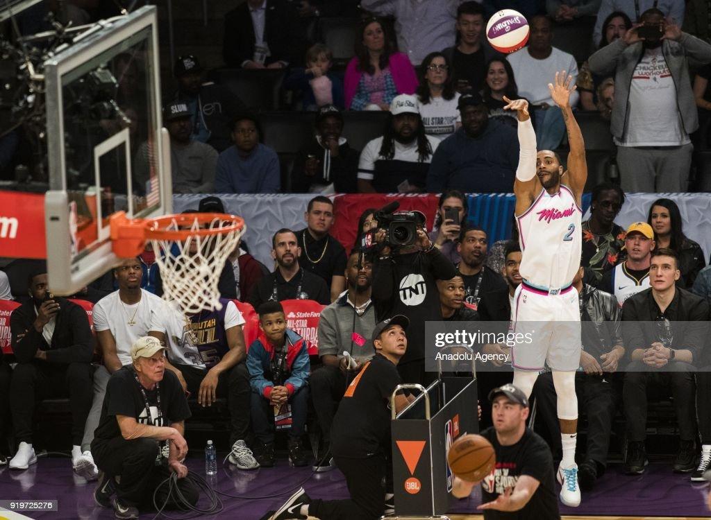 NBA All-Star Saturday Night - Three-Point Contest : News Photo