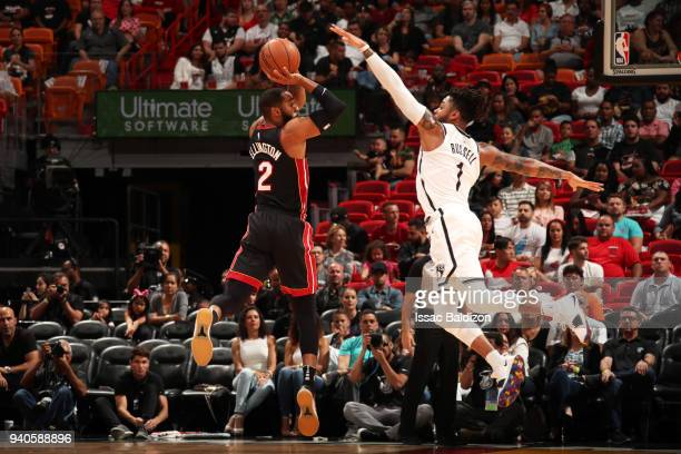 sports shoes 18184 56fba Miami Heat V Brooklyn Nets Premium Pictures, Photos ...