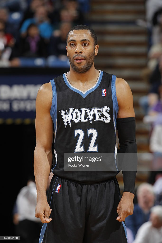 Wayne Ellington Of The Minnesota Timberwolves In A Game Against