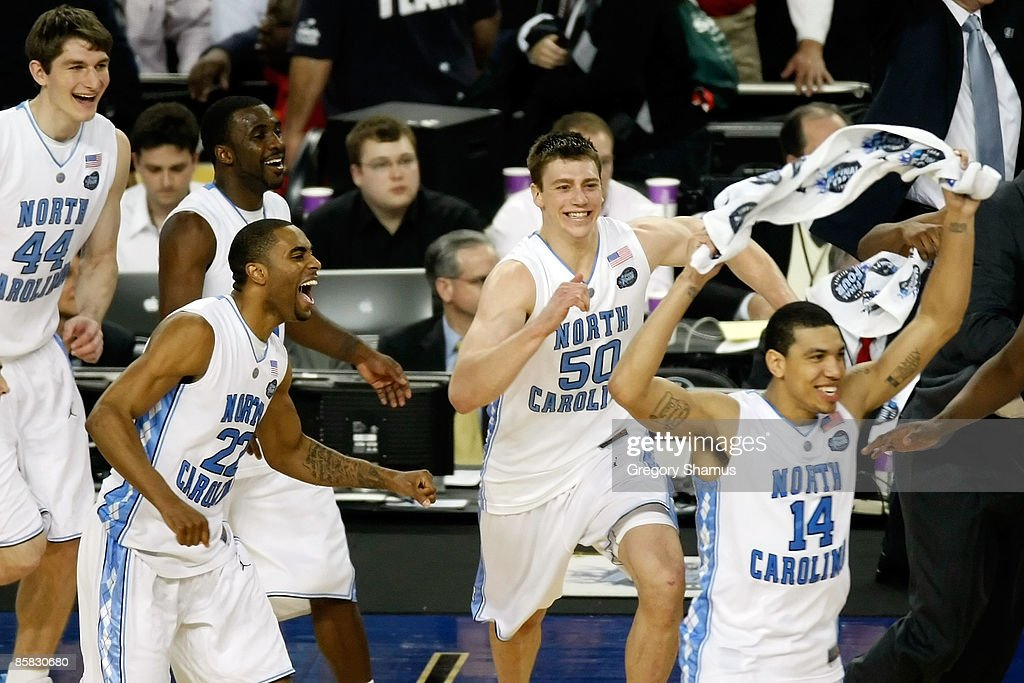 Wayne Ellington Tyler Hansbrough And Danny Green Of The North News Photo Getty Images