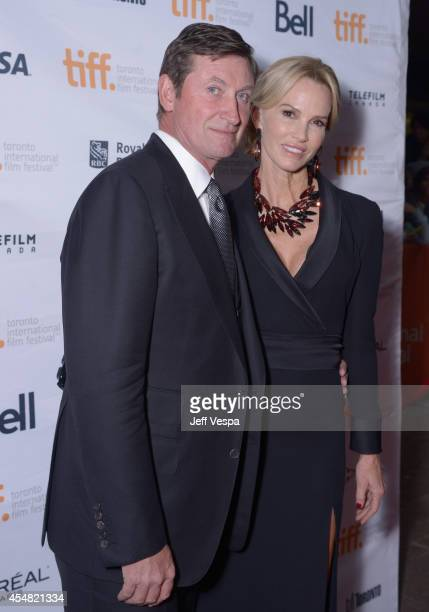 Wayne Gretzky and actress Janet Jones attend 'The Sound And The Fury' premiere during the 2014 Toronto International Film Festival at Ryerson Theatre...