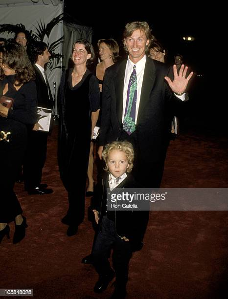 Wayne Gretzky and Son Ty Gretzky during APLA's 8th Annual Fundraiser Honoring Isaac Mizrahi at Mann's Chinese Theater in Hollywood California United...