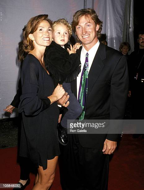 Wayne Gretzky and Wife Janet Jones and Son Ty Gretzky