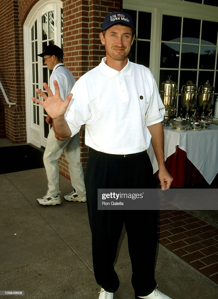 Wayne Gretzky during Casey Lee Ball Classic Charity Golf Tournament at Lake Sherwood Country Club in Westwood, California, United States.