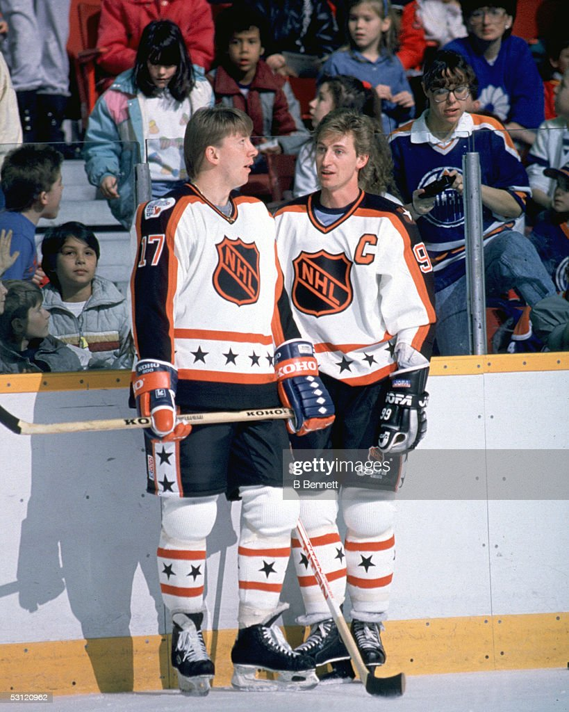 1989 40th NHL All-Star Game: Wales Conference v Campbell Conference : News Photo