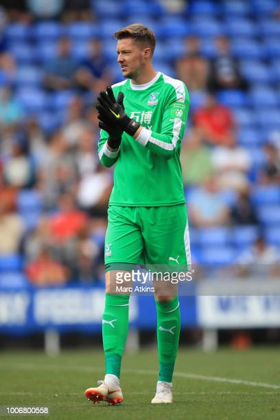 Wayne Hennessey of Crystal Palace during the PreSeason Friendly between Reading and Crystal Palace at Madejski Stadium on July 28 2018 in Reading...