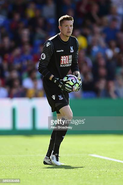 Wayne Hennessey of Crystal Palace in action during the Premier League match between Crystal Palace and West Bromwich Albion at Selhurst Park on...