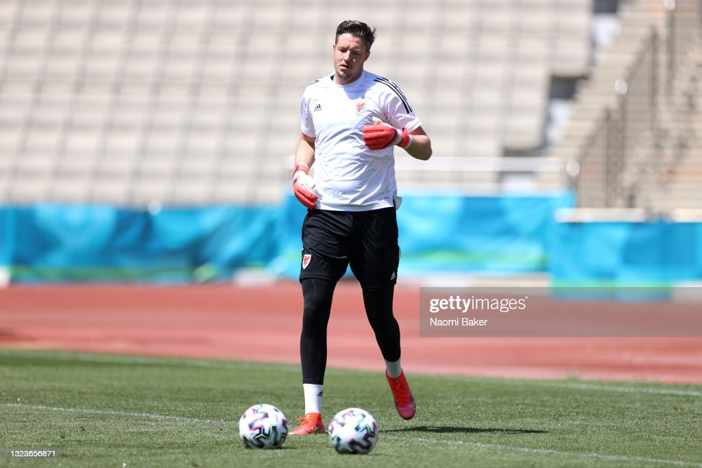 Wales Training Session and Press Conference - UEFA Euro 2020: Group A : News Photo