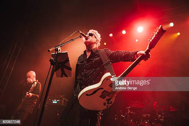 Wayne Hussey of The Mission performs at O2 Academy Leeds on November 3 2016 in Leeds England