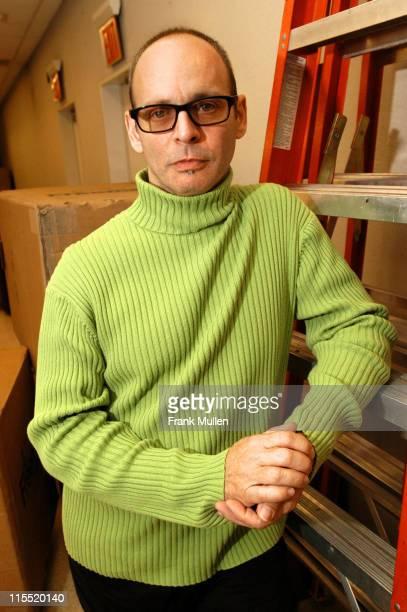 Wayne Kramer during CMJ Music Marathon 2003 Day 3 Wayne Kramer Portrait Session at Hilton Hotel in New York New York United States