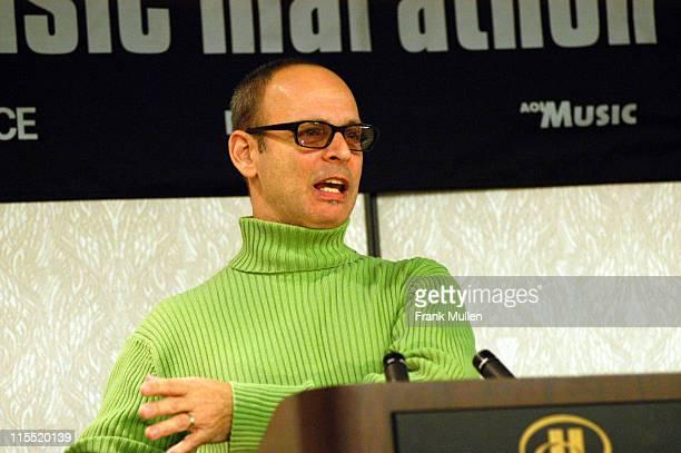 Wayne Kramer during CMJ Music Marathon 2003 Day 3 Wayne Kramer Gives Keynote Speech at Hilton Hotel in New York New York United States