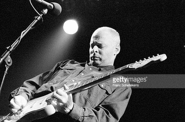 Wayne Kramer, guitar and vocals, performs on February 9th 1995 during World Roots festival at the Melkweg in Amsterdam, Netherlands.