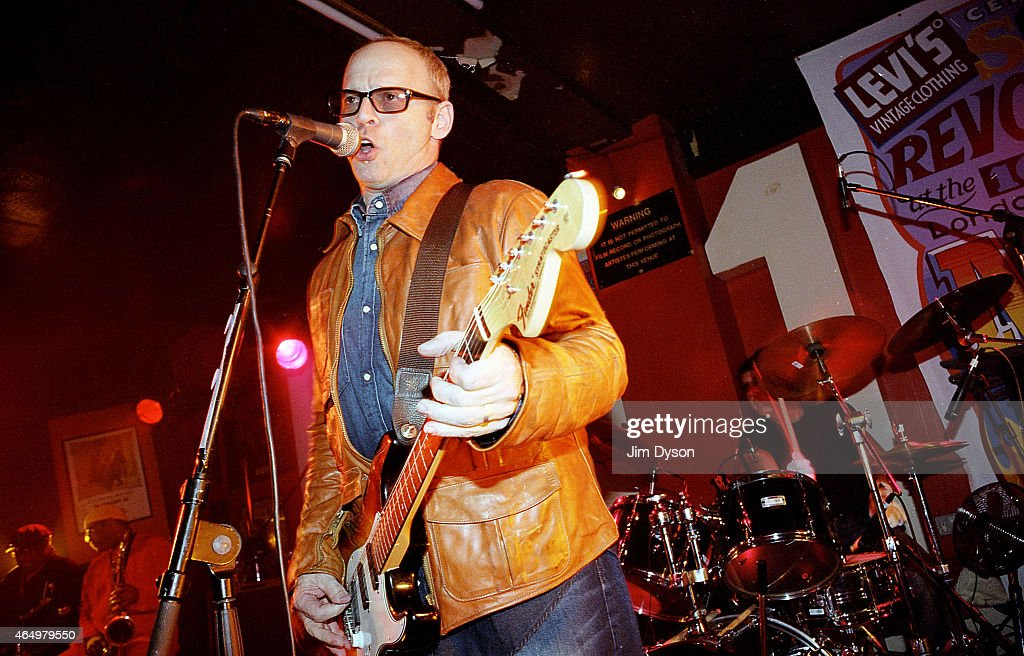Wayne Kramer of the MC5 performs live on stage during the reunion show 'Sonic Revolution: A Celebration Of The MC5' at the 100 Club on March 13, 2003 in London, United Kingdom.