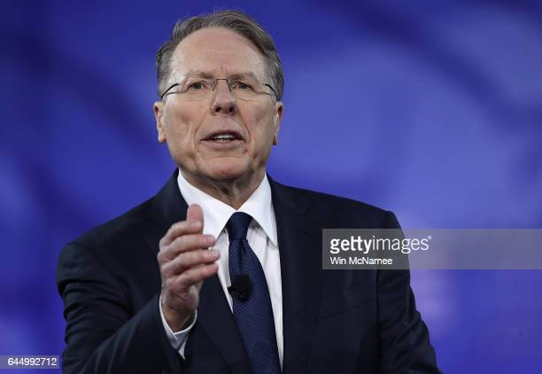 Wayne LaPierre Executive Vice President of the National Rifle Association addresses the Conservative Political Action Conference at the Gaylord...