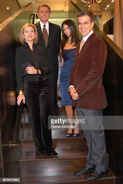Wayne Lineker Rory Tahari Eileen Guggenheim and Russell Wilkinson attend Elie Tahari Kicks Off the New York Academy of Art's Take Home A Nude at Elie...