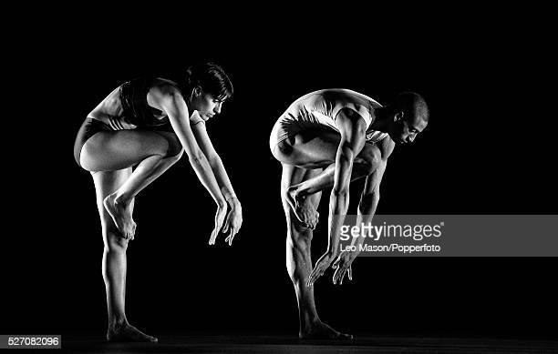 Wayne McGregor Random Dance Company performing ATOMOS at Sadlers Wells Theatre London UK